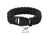 Rothco Deluxe Paracord Bracelets - Black