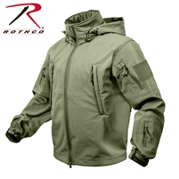 Rothco Special Ops Tactical Soft Shell Jacket - OD Green