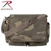 Rothco Vintage Washed Canvas Messenger Bag - Woodland