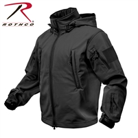 Rothco Special Ops Tactical Soft Shell Jacket - Black - 3XL
