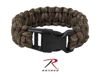 Rothco Deluxe Paracord Bracelets - Woodland