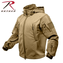 Rothco Special Ops Tactical Soft Shell Jacket - Coyote - 2XL