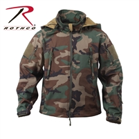 Rothco Special Ops Tactical Soft Shell Jacket - Woodland