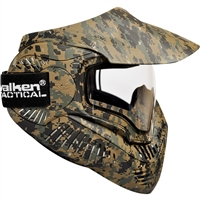 Valken Paintball MI-7 Goggle/Mask with Dual Pane Thermal Lens - Marpat Camo