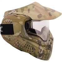 Valken Paintball MI-7 Goggle/Mask with Dual Pane Thermal Lens - Multicam