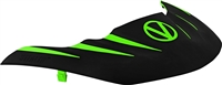 Virtue Vio Stealth Visor - Lime / Black