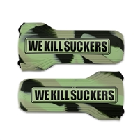 Bunker Kings Evalast Barrel Sock - We Kill Suckers - Camo