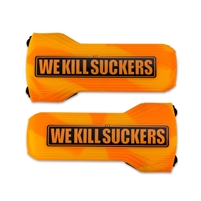Bunker Kings Evalast Barrel Sock - We Kill Suckers - Orange