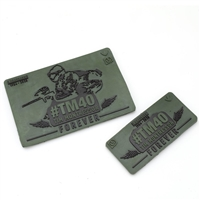 Tim Montressor #TM40 Forever Rubber Velcro Patch 2-Pack - Olive