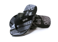Virtue Onset Flip Flops - Graphic Black