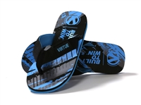 Virtue Onset Flip Flops - Graphic Cyan