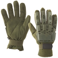 V-TAC Full Finger Gloves Plastic Back