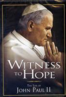 Witness to Hope, the Life of John Paul II DVD
