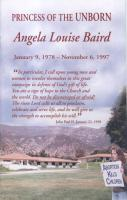 Princess of the Unborn: Angela Louise Baird