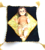 Resin Baby Jesus with Pillow 2659-14