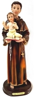 "5"", 8"", or 12"" St. Anthony of Padua Statues"