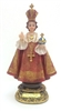 8.5 inch Infant of Prague statue  6122-8