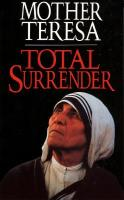 Total Surrender by Mother Teresa