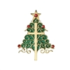Inspirational Christmas Tree And Cross Ornament 38575
