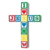 Jesus Loves Me Wall Cross