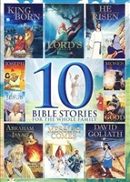 10 Bible Stories For The Whole Family DVD