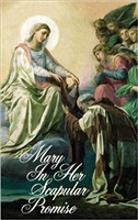 Mary In Her Scapular Promise