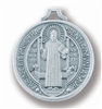ST. BENEDICT ANTIQUE SILVER JUBILEE MEDAL