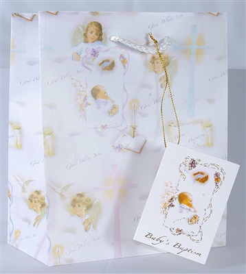 Large Baptism Gift Bag