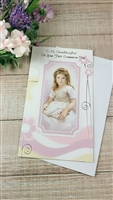 To My Granddaughter On your First Communion Day Greeting Card 11-3202