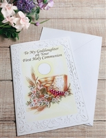 To My Goddaughter on Your First Holy Communion 11-3228