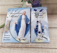 The Holy Rosary Prayer Book and Rosary Set