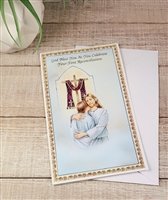 God Bless You As You Celebrate Your First Reconciliation Greeting Card 11-5000
