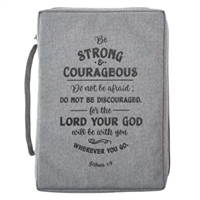 Be Strong and Courageous Bible Cover BBM662