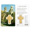 I Carry This Cross Holy Card with Medal 10-035