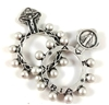 Ave Maria Finger Rosary Ring 15-105