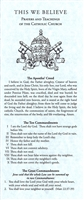 This We Believe: Prayers and Teachings of The Catholic Church Pamphlet