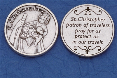 Saint Christopher Pocket Token (Coin) 171-25-0002