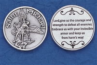 Saint Michael Pocket Token (Coin) 171-25-0033-P