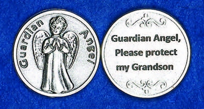 Guardian Angel Grandson Pocket Token (Coin) 171-25-2087-P