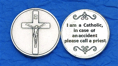 I am a Catholic Pocket Token (Coin) 171-25-2094