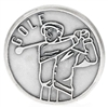 Golf Silver Pocket Token 171-25-3317