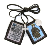 St. Francis of Assisi Brown Scapular