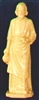 4 inch St. Joseph The Worker/Home Sellers Tan Statue