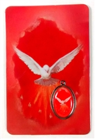 The Holy Spirit Laminated with Medal Holy Card