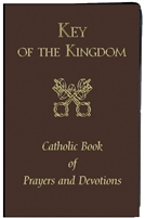 Brown Key of the Kingdom Large Print Edition 2590-BN