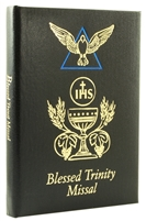 Black Blessed Trinity Missal and Prayerbook by Dr Kelly Bowring, 2639