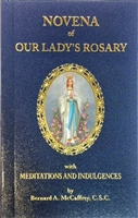 Novena of Our Lady's Rosary: with Meditations and Indulgences 2442
