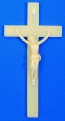 "Glow in the Dark 12"" Wall Crucifix"