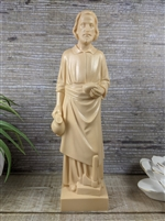 8inch Saint Joseph The Worker Tan Statue 2032-R