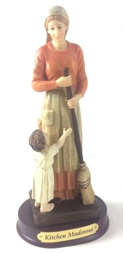 Kitchen Madonna Statue
